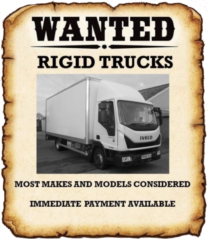 wanted rigid trucks