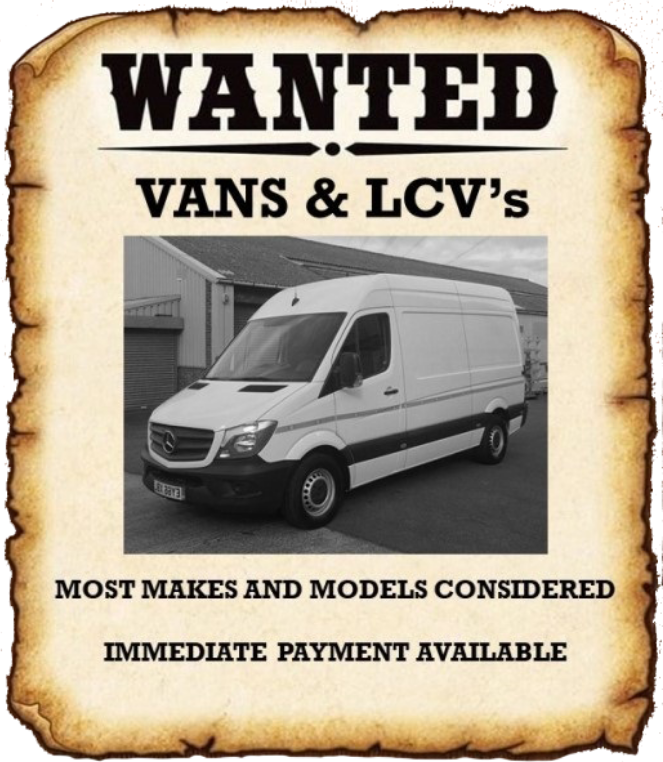 wanted vans and lcvs
